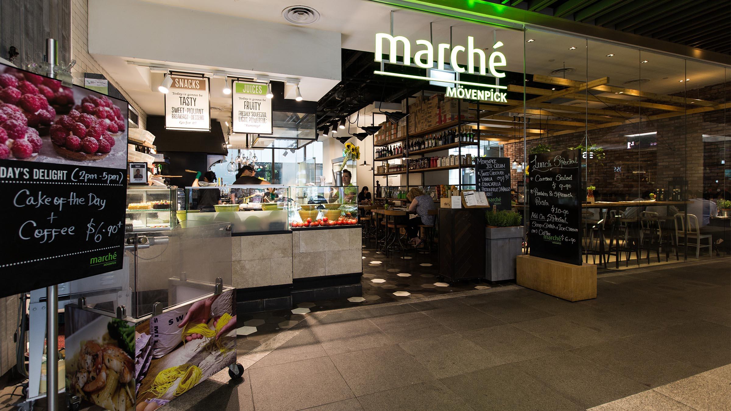 Marche Mövenpick | 50 Jurong Gateway Singapore JEM