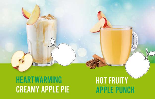 Winter Hot Drinks, Creamy Apple Pie, Apple Punch