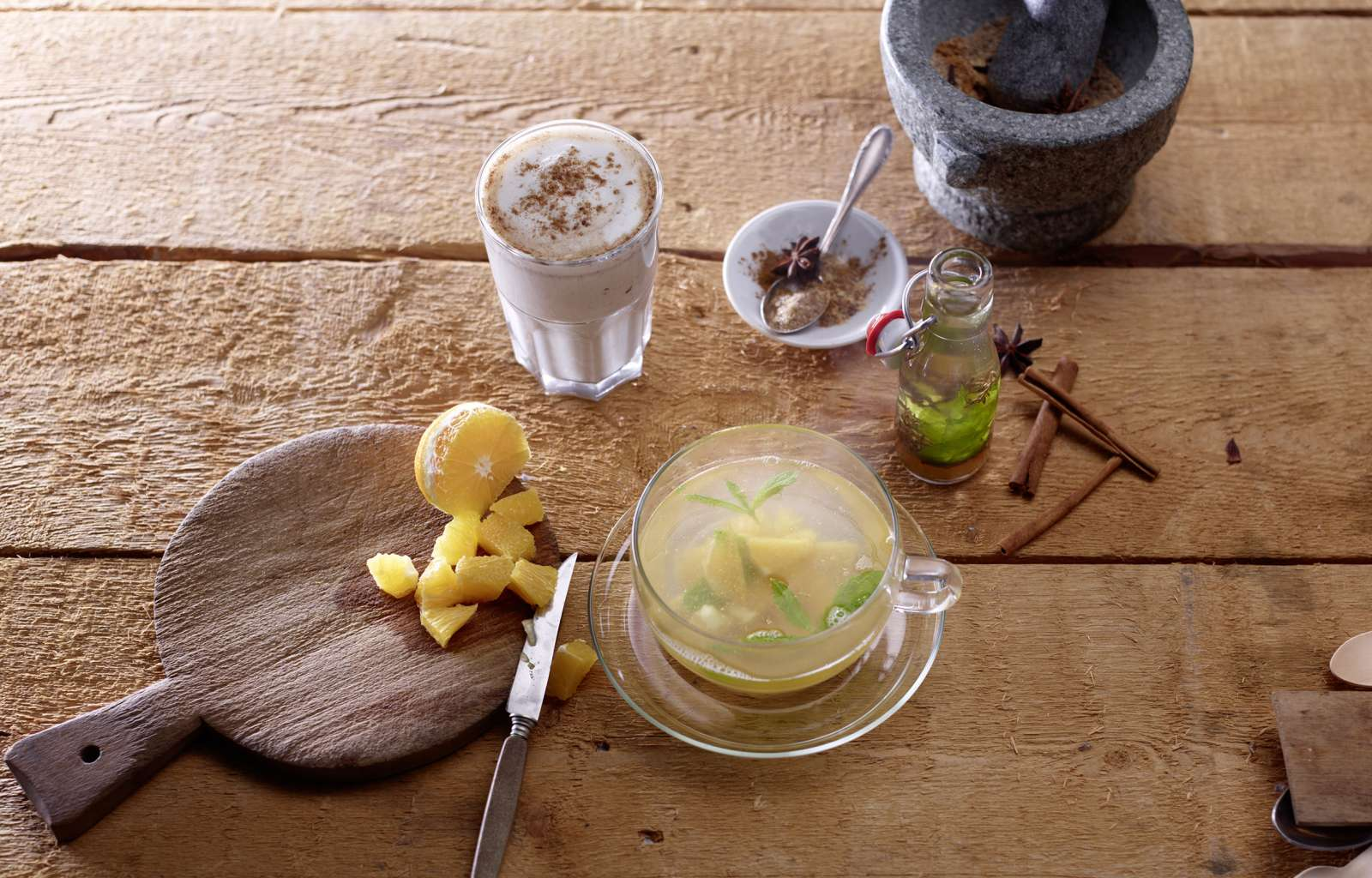 Chai Latte, Hot Drink, Gewürzmischung