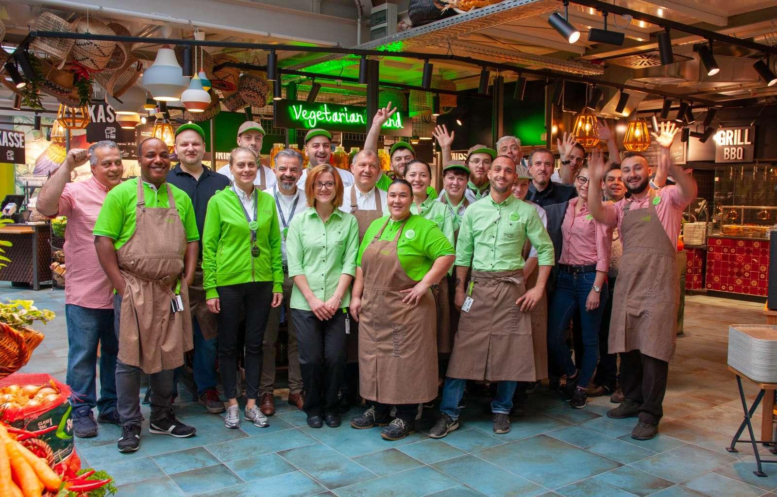 Amazonica, Wilhelma, Stuttgart, Team