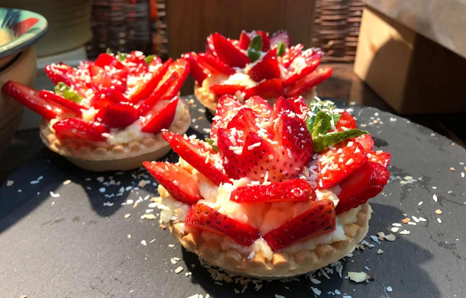 Erdbeer Törtchen, Erdbeer Dessert