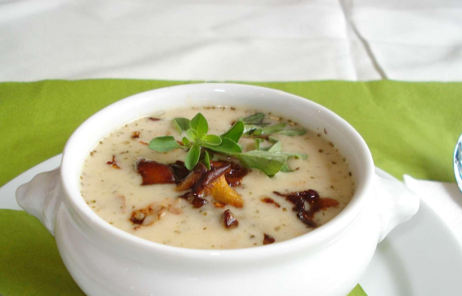 Kartoffel-Pilz-Suppe, Rezept, Herbstgericht