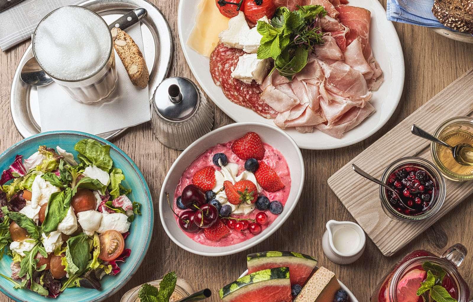 Frühstück im Palavrion