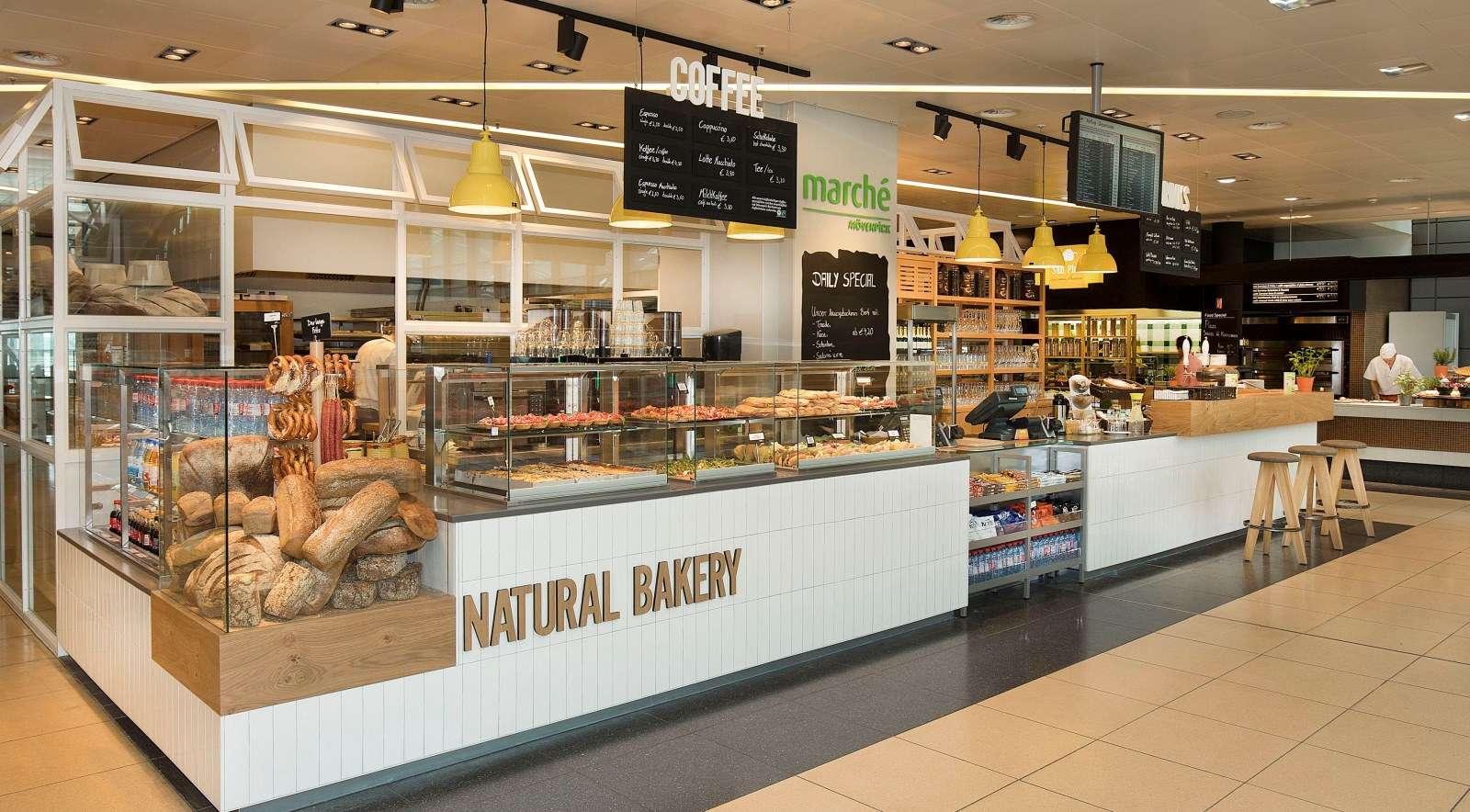Naturbäckerei am Hamburg Airport