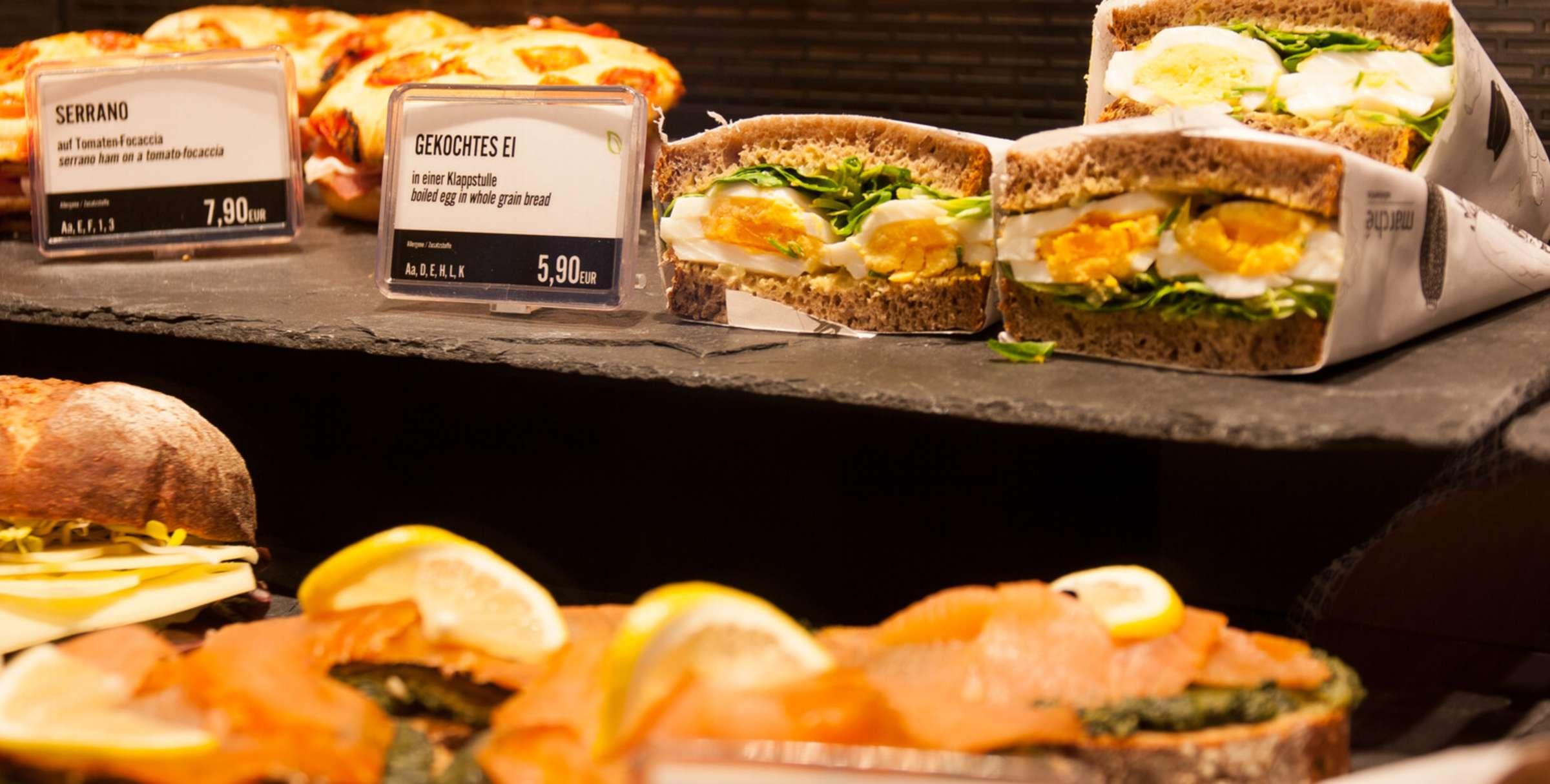 Flughafen Berlin Brandenburg, Sandwich Manufaktur