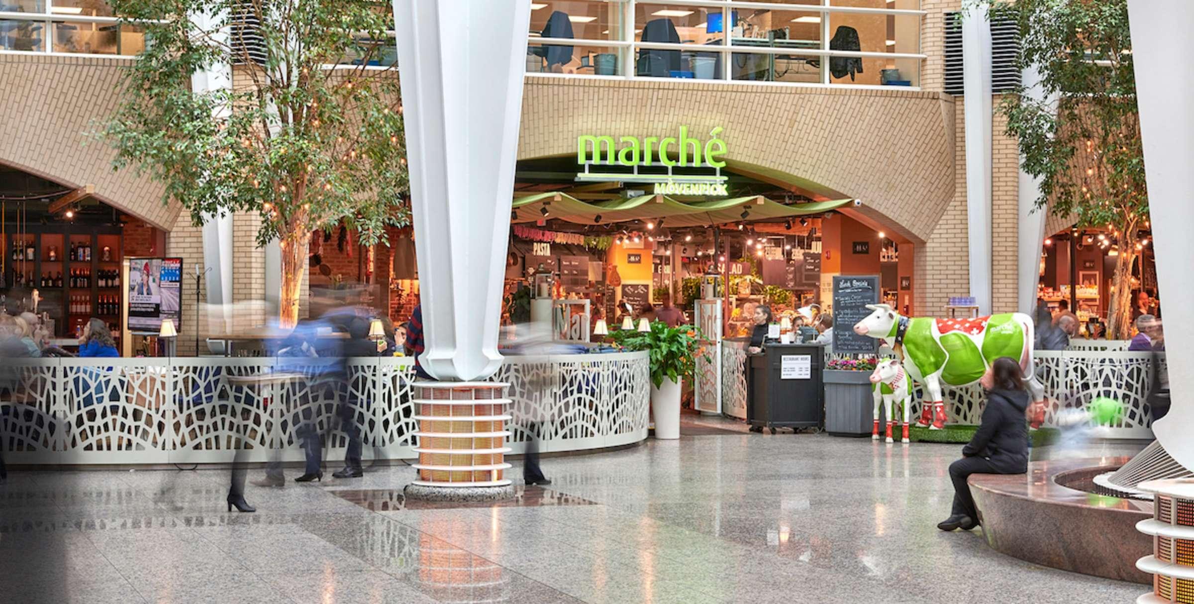 Marche Mövenpick European Marketplace Restaurant Downtown