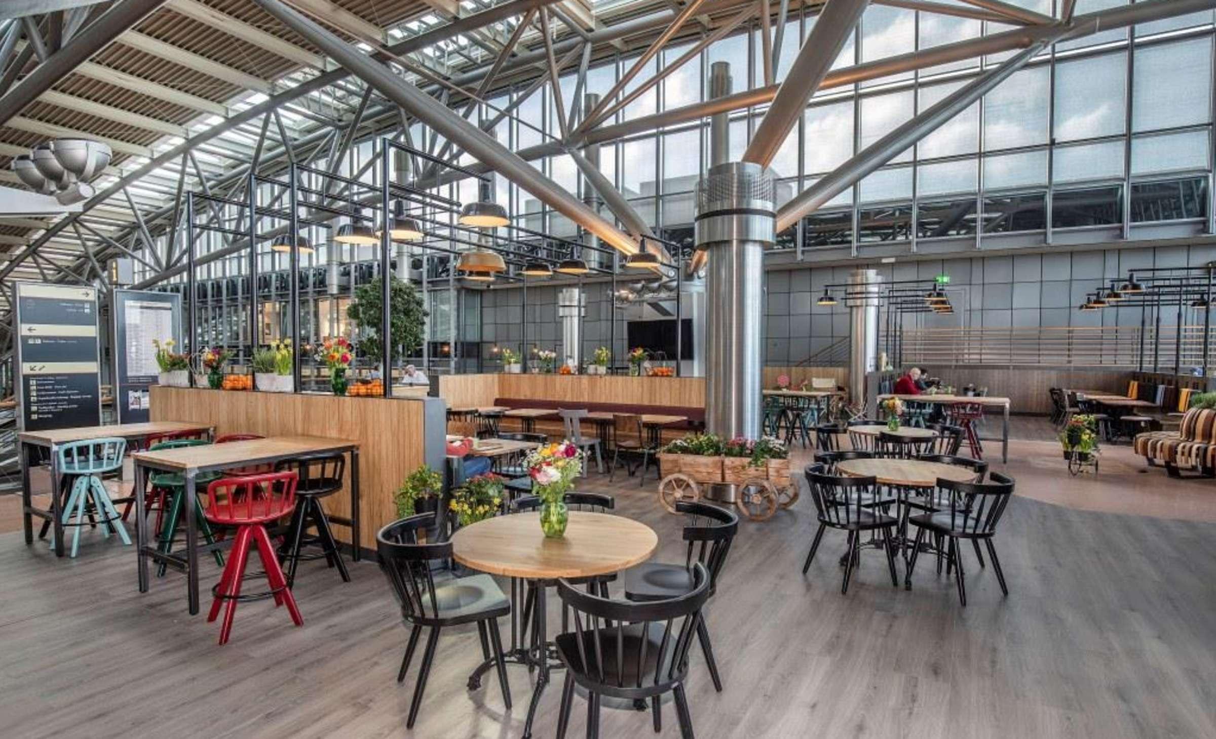 Marché Restaurant Hamburg Airport, Gastbereich