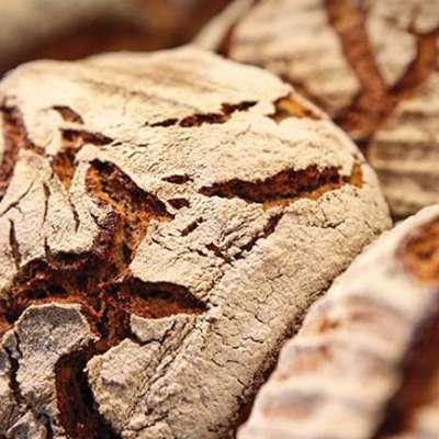 Brote, frische Brote, Naturbäckerei
