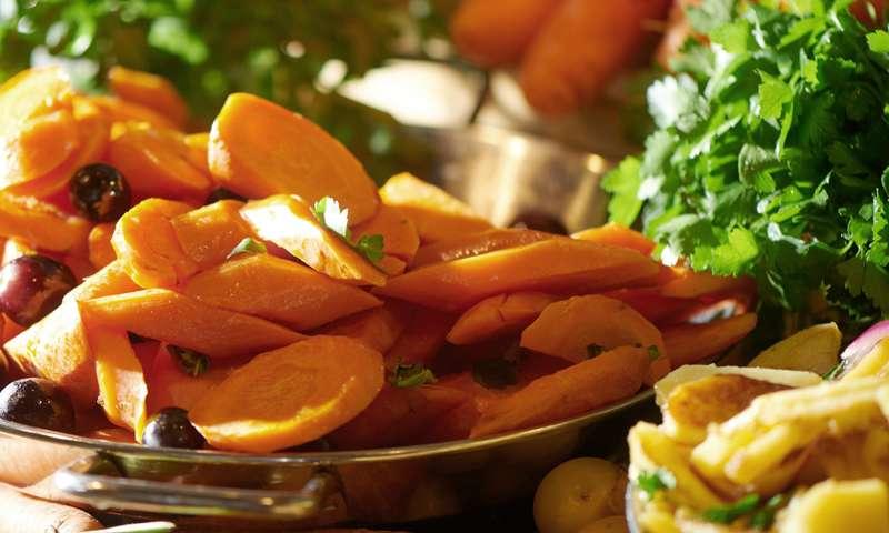 Marktküche, Gemüse