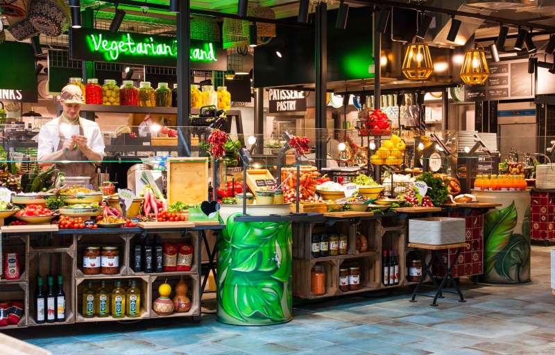 Amazonica, Wilhelma, Vegetarian Island, vegetarian food, veggie