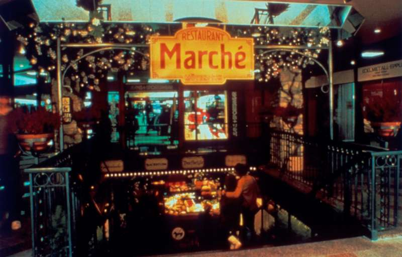 The first Marché restaurant