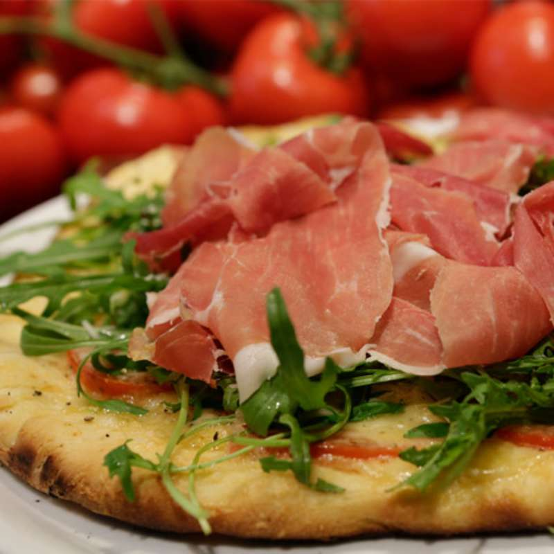 Pizza Serrano Ruccola