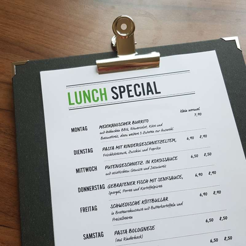 Lunch Special ansehen