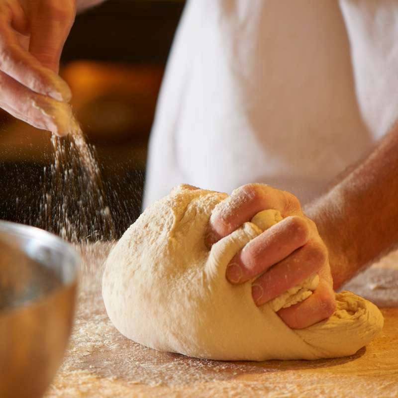 Brot frisch backen