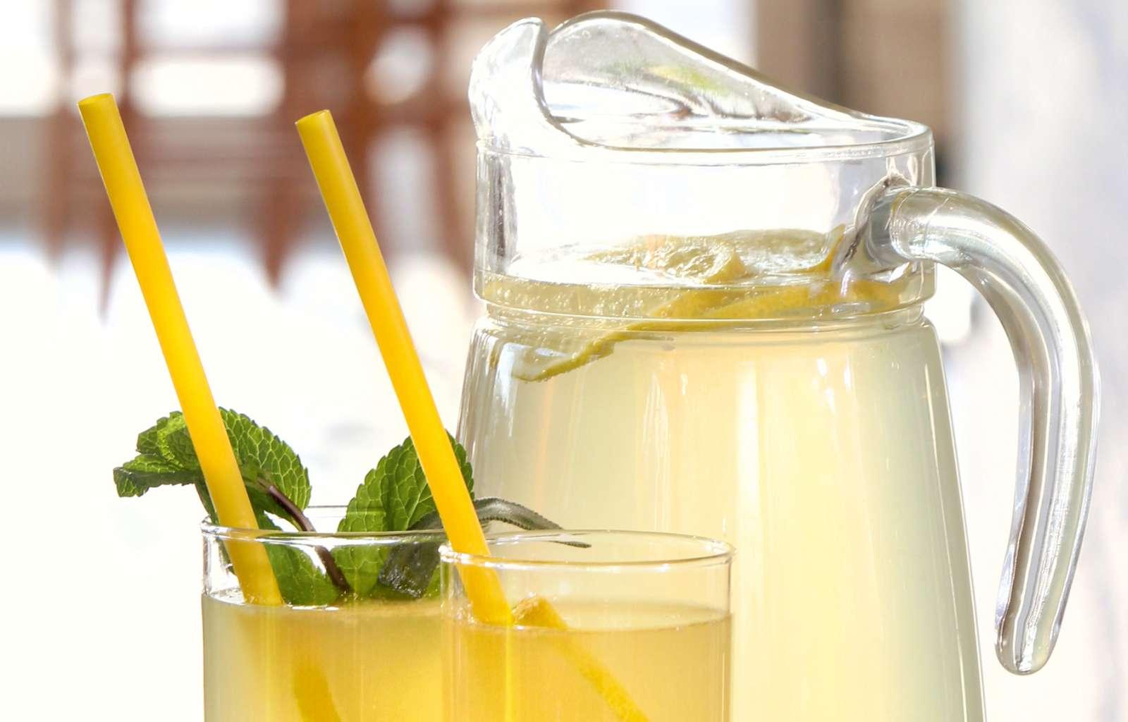 Rezept Salbei-Minze-Limo