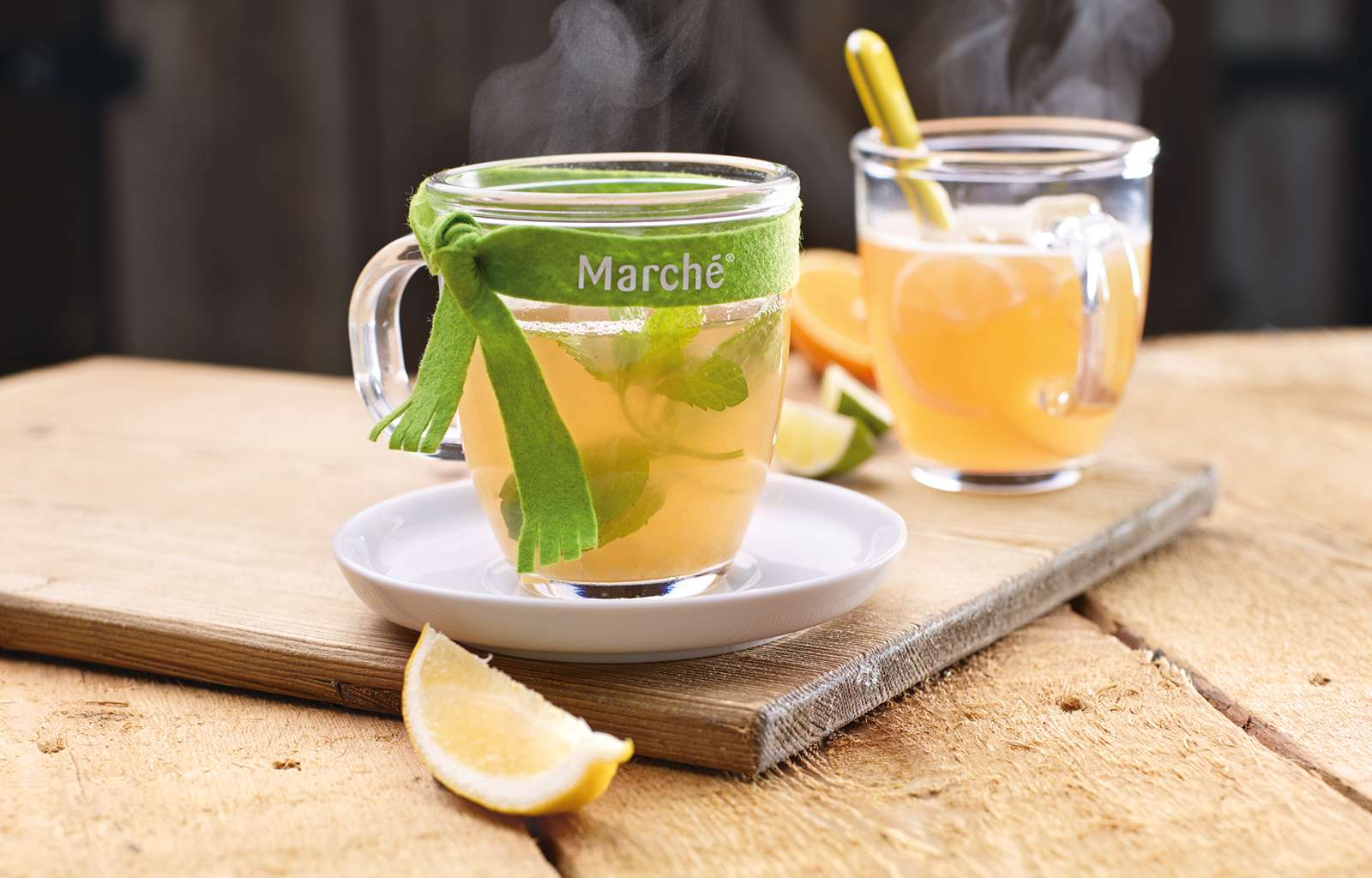 Rezept heisse Limonade