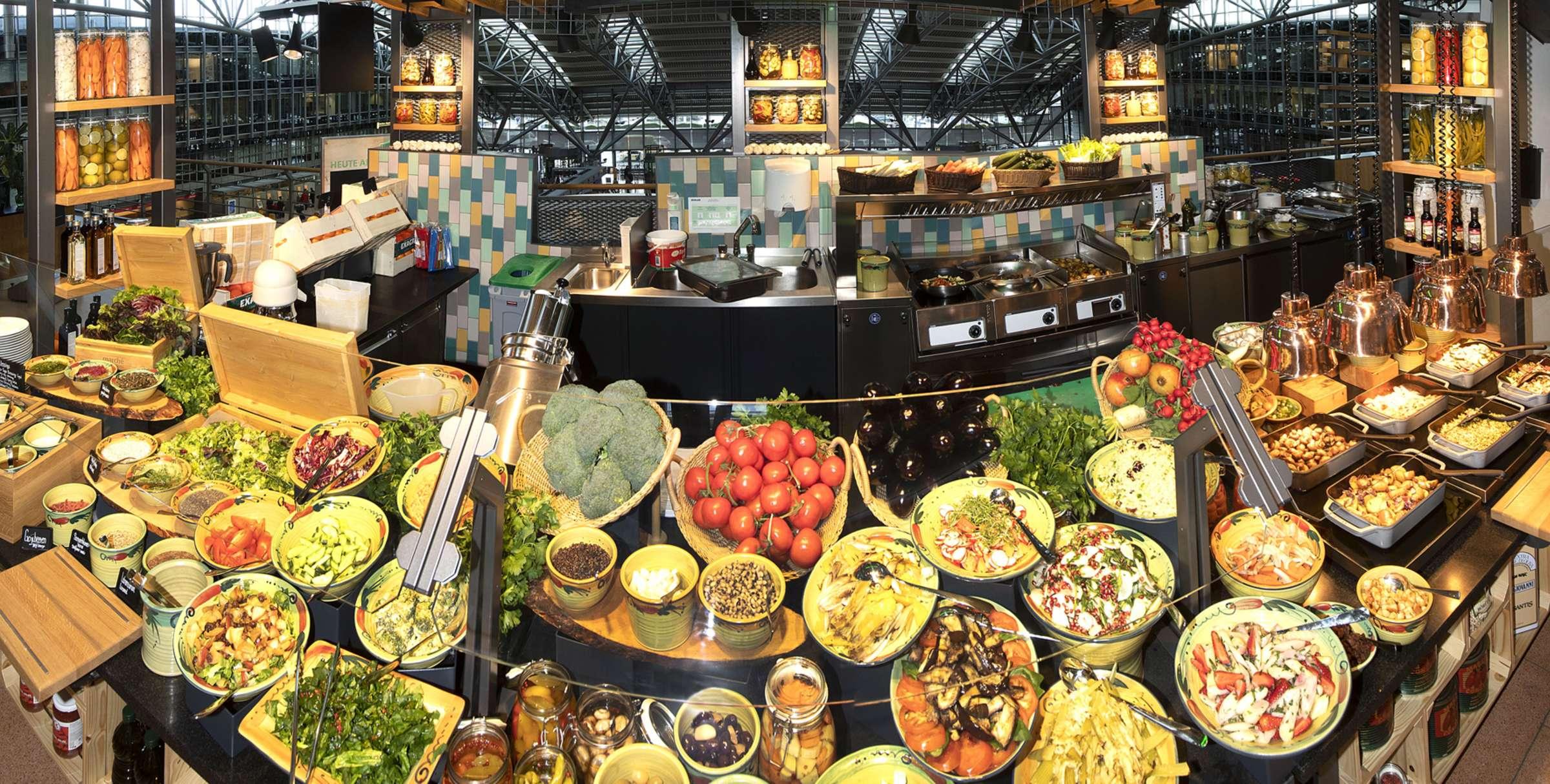 Marché Mövenpick Hamburg Airport Vegetarian Island