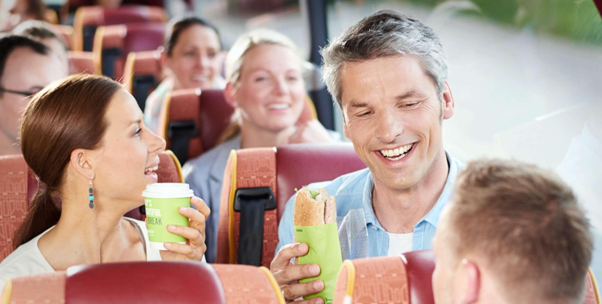 Busfahrer Rast Restaurant