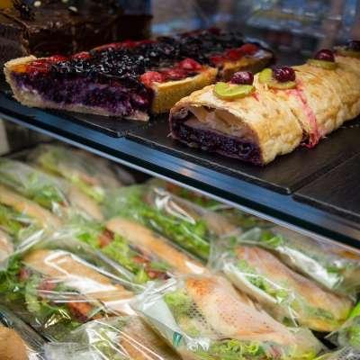 Slovenija Maribor Dessert Sandwiches