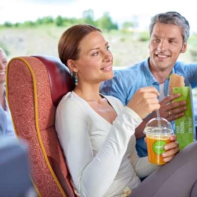 bus tour, food bus tour, food to go, take away