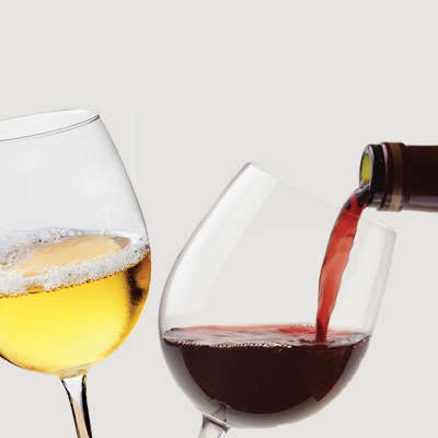 red-white-Wine-housepour