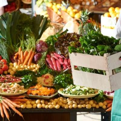 Regionales Essen, regionale Lieferanten, Fresh Food, saisonales Essen